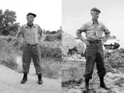 Baldwin Burr & Ernie Pyle