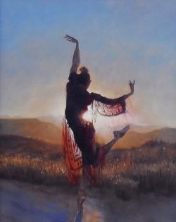 DancerinRedFramed1.jpg