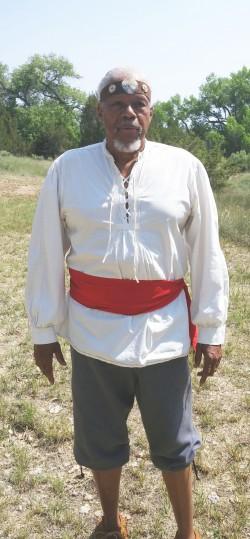 Edward Wallace as Estevan the Moor