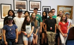 Students visit Congressman Steve Pearce
